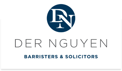 Logo for Der Nguyen, an Edmonton law office offering low lawyer fees for real estate legal services, wills and estates planning and commercial lawyer services, including legal help to buy or sell a business.